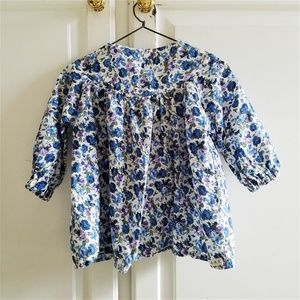 Baby girl floral dress top blouse 12-24 mo